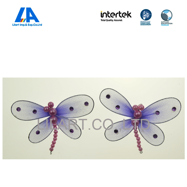 Kids Party gifts with purple silk stocking butterfly wings