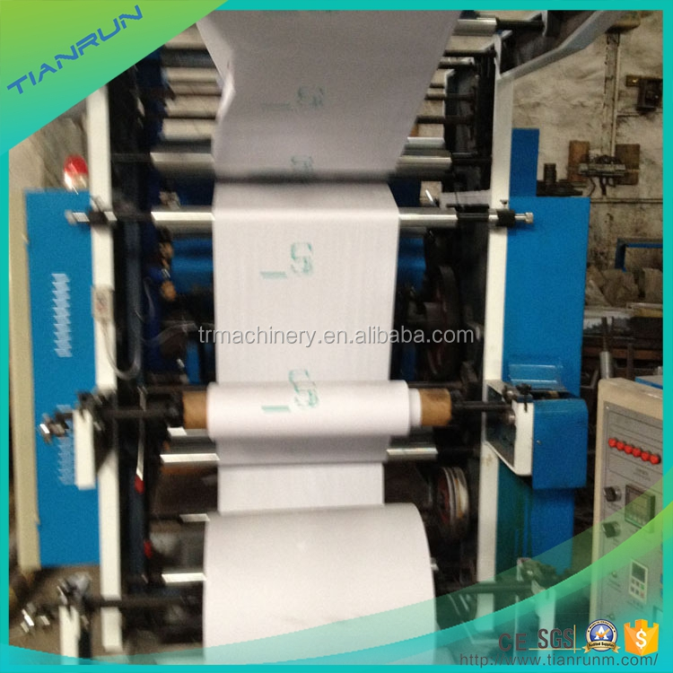 High quality automatic 4 color digital flexo printing machine price
