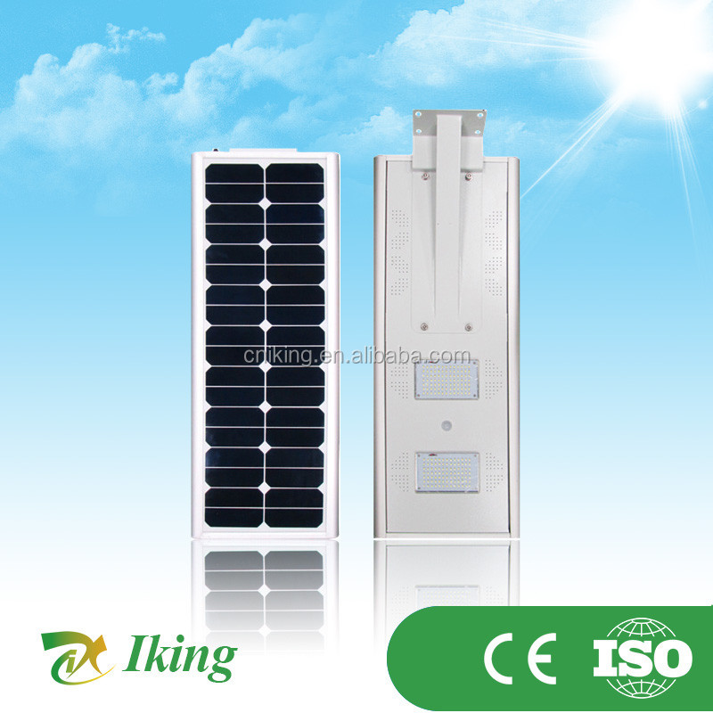 20W Samsung 105LM/W 4-8M 4000-6000k IP67 18pcs*1 solar street light Guarantee 3years(003D) solar street light