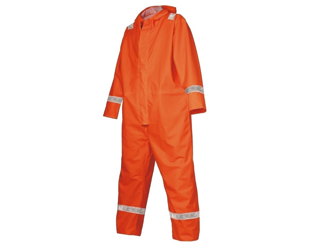 Safety Orange Workwear waterproof Coverall