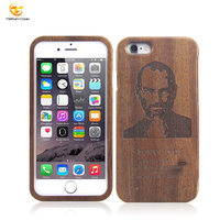 Natural Carved Real Wooden Hard Case Cover Protect For iphone 6