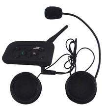 New Brand Arrival Easy Connect V6 Multi-functional Motorbike BT Interphone Motorcycle Helmet Bluetooth Intercom Headset