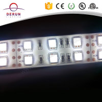 High lumen 24v 5050 led strip dual white