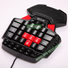 New Arrival Computer LED Backlight Wired Mechanical Gaming Keyboard