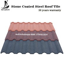 High quality best selling waterproof 50 years warranty stone coated roof tile roofing shingle price for sale
