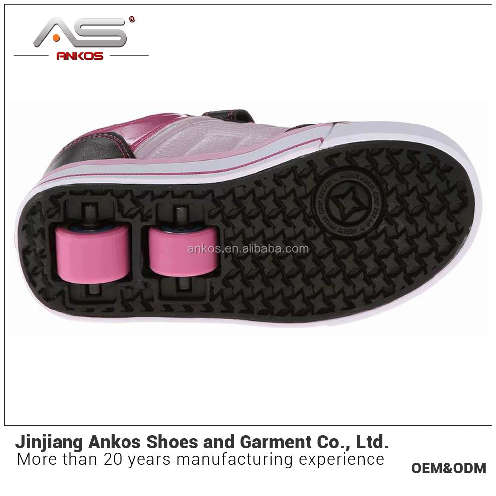 2017 latest kids skate roller shoes from jinjiang ankos shoe factory