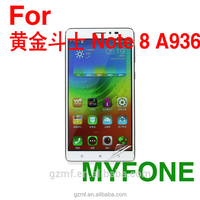 MYFONE mirror factory price screen protector for Lenovo Note 8 A936