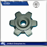 Waterglass precoated sand investment casting