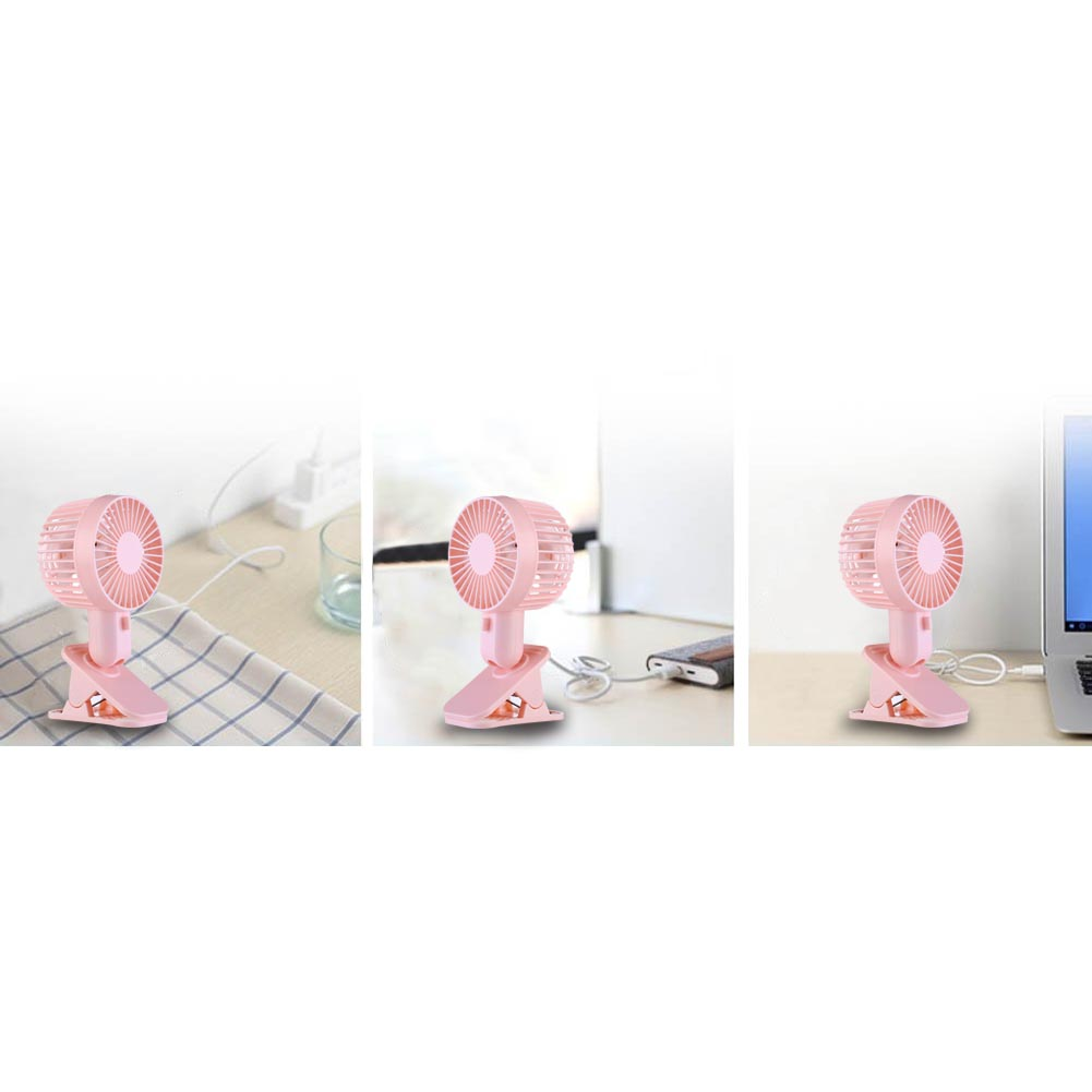 USB powered handheld Table Stand Electrical mini clip fans