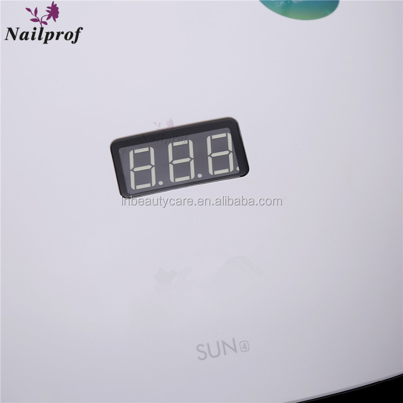 Wholesale SUN4 UV LED Nail Lamp for manicure beauty salon 48W Dryer Lamp Arcylic Gel Polish with Memory Timer