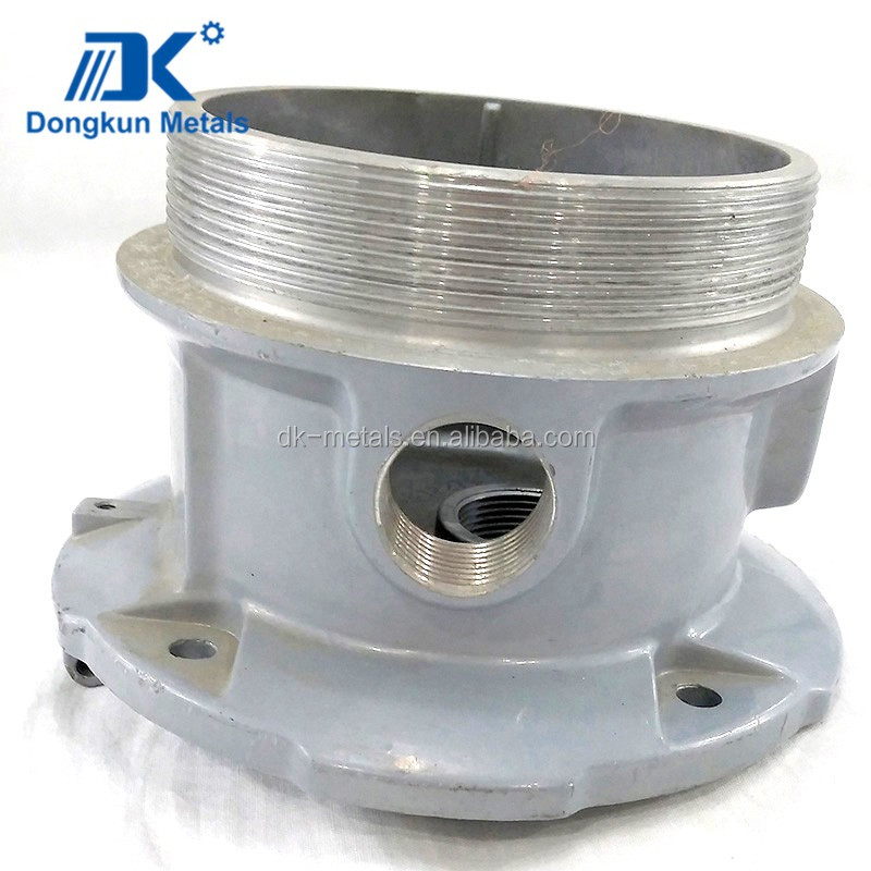 aluminum stainless steel precision die casting machining