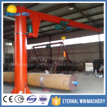 360 degree rotating floor mounted 0.25 ton 1 ton 2 ton 3 ton 5 ton pillar hoist small jib crane price