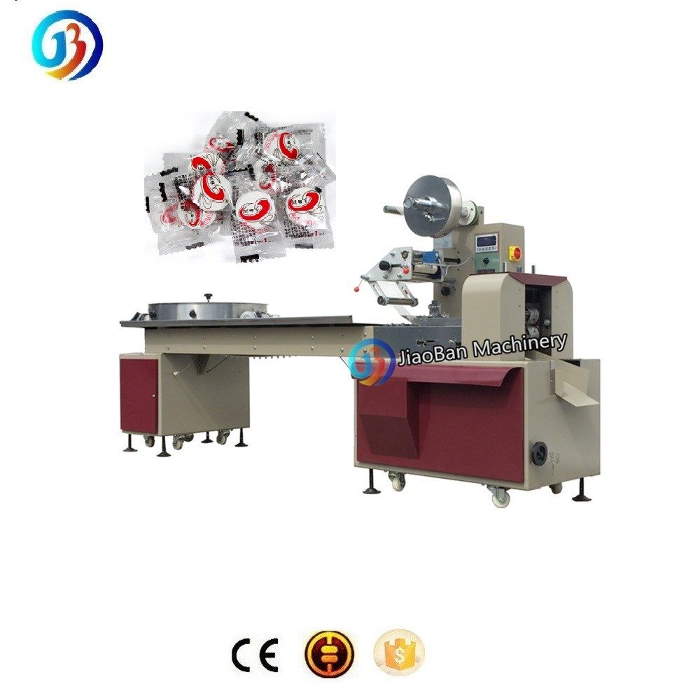 JB-800 Automatic sachet round shaped tablet back sealing packing <strong>machine</strong>