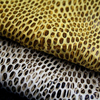 Soft Embossed Snake Skin Synthetic Leather