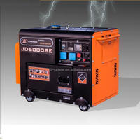 single cylinder soundproof portable diesel air water generator