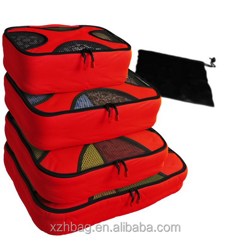 5 set packing cube, travel bags with lundry bag