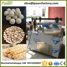 Rice Ball Candy Production Line / Puffing Rice Forming Machine / Cereal Bar Forming Machine