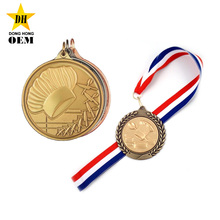 Promotional Custom Culinary Accomplishment Plaque Metal Award Chef Medals