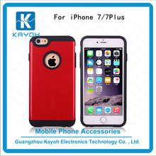 [kayoh]Compatible Brand Case tpu+pc Material PC + TPU Phone Cases For Apple IPhone 7 custom phone cases