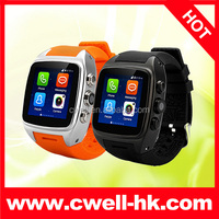 Smart X01 MTK6572 Dual Core Android 4.4.2 OS 512MB RAM 4GB ROM 1.54 inch IPS Touch Screen Mobile Watch Phone