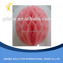 Paper honeycomb ball honeycomb paper ball decorations