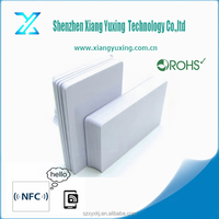Rewritable rfid card/rfid smart card/blank rfid cards