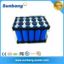 High capacity 24v 8ah li ion 18650 battery pack 7s3p for black and decker drill