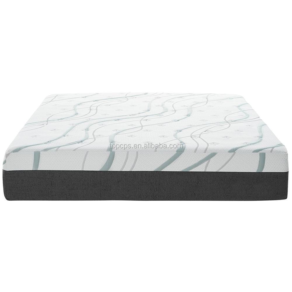 luxury knit fabric cover memory foam mattress gel foam amazing products from china