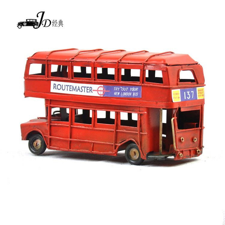 Factory Supply superior quality decorative antique metal model car from China