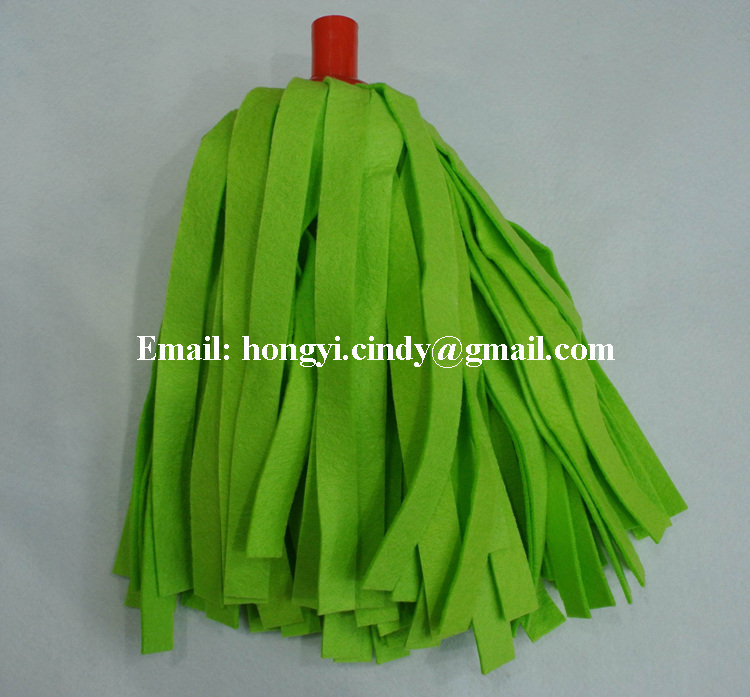 Super water absorbent floor cleaning use viscose nonwoven mop heads