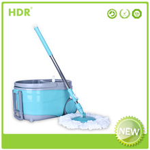 HDR-M022B Walkable bucket mop 360 Spin Magic Mop,handle type With Wringer Mop Bucket