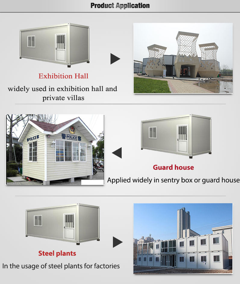 Modern prefab houses sandwich panel container buy - Sandwich panel homes ...