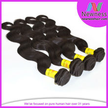 6A top quality unprocessed 100% human hair in thailand