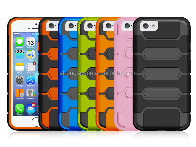 Armor Dual Layer Protective Cover Protection Case for iPhone 6