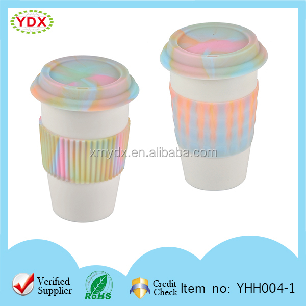 Insulation Silicone Hot Cup Holder/Glass Cup Holder/Silicone Cup Cap