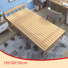 High Quality Wood Camping Bed Wholesale Mdf Wood Bed Designs Of Wood Bed