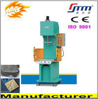 C Frame Licensed Hydraulic Oil Press for Embossing/Drawing/Shaping/Forming with Stroke/Pressure/Dwell Time/Die Height Adjustable