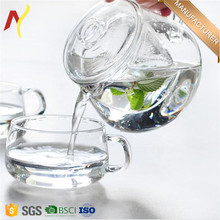 500ml glass heat resistant teapot for kongfu tea and coffee
