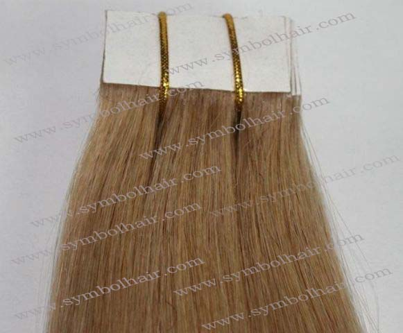16inch 8# straight Brazilian virgin human tape hair weft