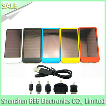 2600mah super fast solar mobile charger from original manufacture