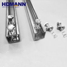 High Quality Stainless Steel Strut Channel C Channel Iron Sizes