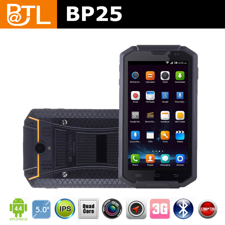 YL0084 high R&D investments rugged waterproof smartphones Quad Core, warehouse products management( BATL BP25 )