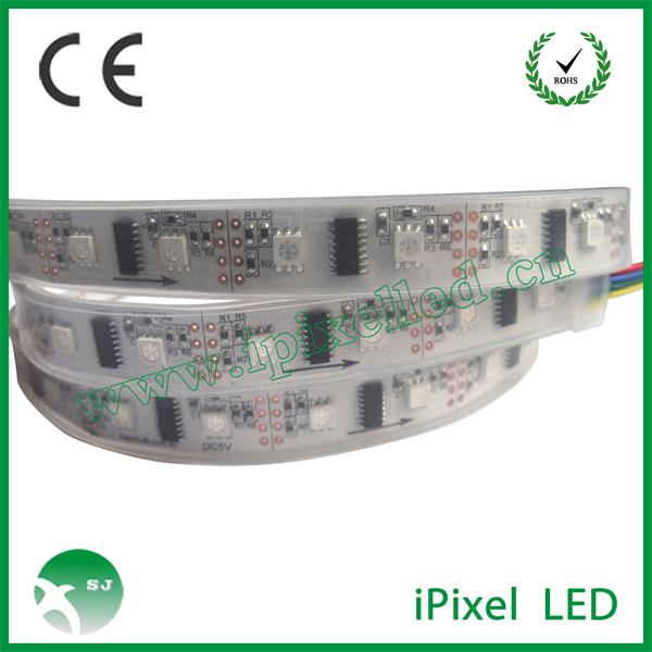 Flexible Digital LPD8806 RGB LED Strip 5v
