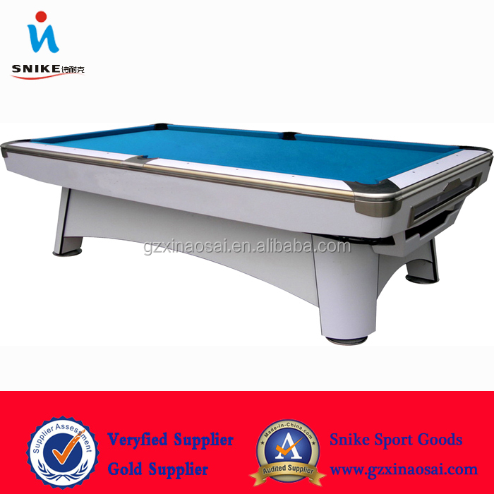 2016 Hot-selling new made Solid Wooden Slate 12ft cheap snooker table with lights for sale