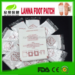 Top level most popular detox foot patch detox foot plaster with private label