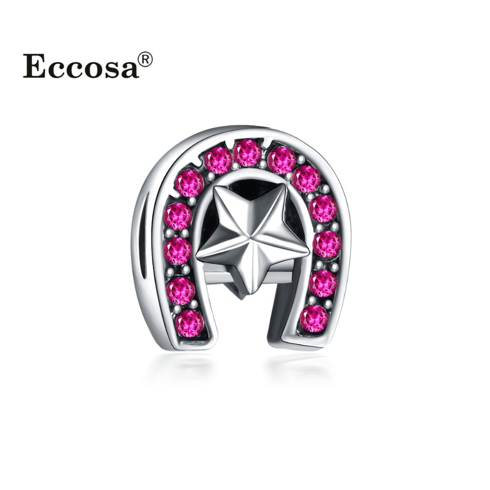 ECCOSA Different Color Fashion Design Crystal Bead Bracelet Bead Landing
