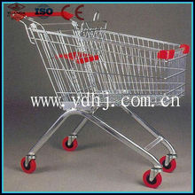 Cool New Promotional Product 60-240 Liters shopping cart With handle And Wheels With CE certification