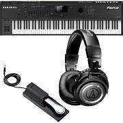 Kurzweil Forte Stage Piano STUDIO KIT w/ Headphones