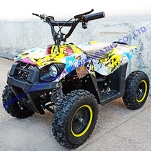 Fashion cheap New 4 wheel adult electric mini quad bike 350w 500w for sale