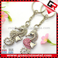 Super quality low price seahorse keychain